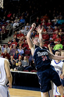 Class D Boys Quarterfinal Washburn vs Bangor Christian