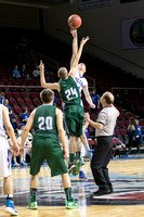 Class D Boys Quarterfinal Wisdom vs Easton