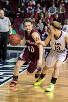 Class C Girls Quarterfinals Narraguagus vs Mattanawcook